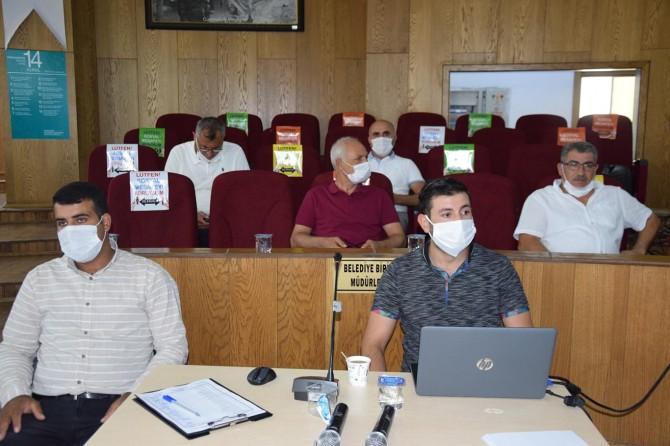 Viranşehir Belediyesi, ağustos ayı meclis toplantısı gerçekleştirdi