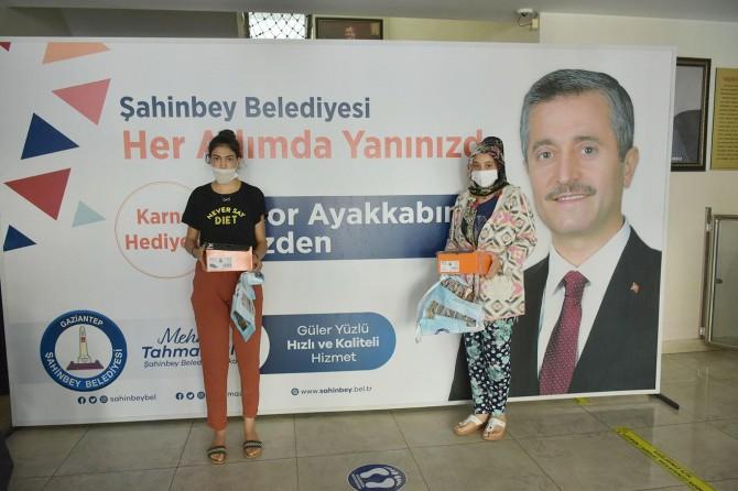 Gaziantep'te 150 bin öğrenciye spor ayakkabısı dağıtılacak