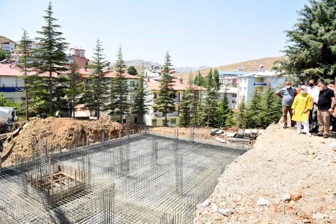 Malatya Arapgir Devlet Hastanesi ek binasının temeli atıldı