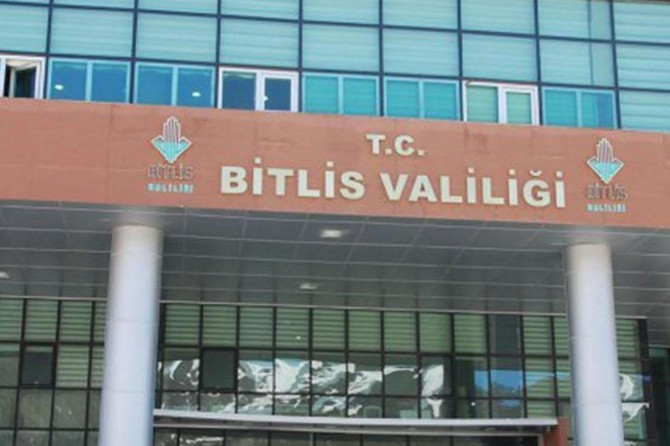 Bitlis'te tüm etkinlikler 11 gün süreyle izne bağlandı