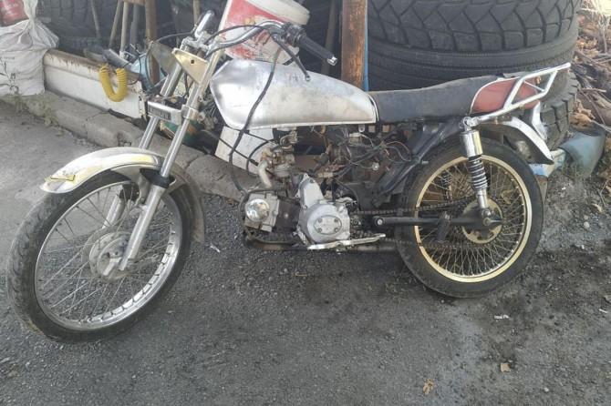 Batman'da 5 yıl sonra bulunan motosikletten hurda yığını kaldı