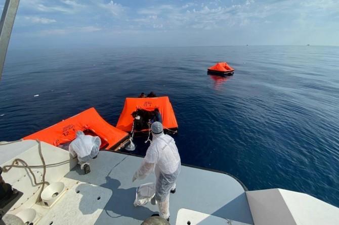 Sahil Güvenlik Komutanlığı: İzmir açıklarında 108 düzensiz göçmen kurtarıldı