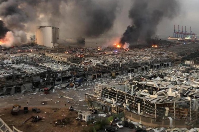 Beyrut'taki patlama, Yüksek Yargı Konseyi'ne sevk edildi