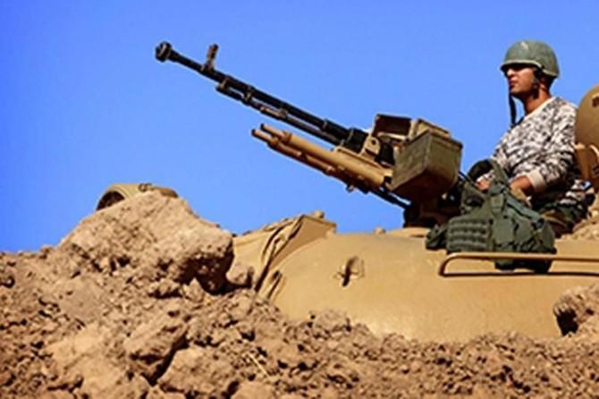 Irak güvenlik güçleri ile DAİŞ arasında çatışma
