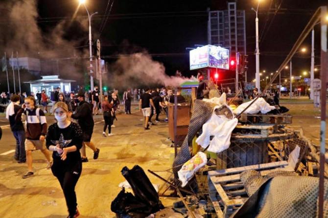 Belarus'taki gösterilerde 2 binden fazla kişi gözaltına alındı