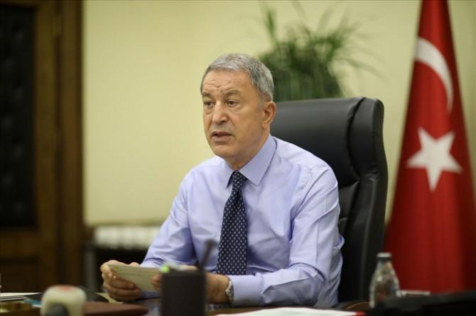"""Bakan Akar: """"Oruç Reis için gerekli tüm tedbirler alındı"""""""