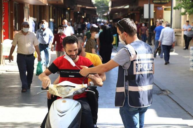 Gaziantep'te Coronavirus tedbirlerine uymayanlara cezai işlem uygulandı
