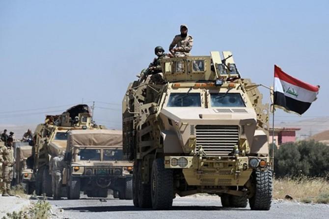 Irak, Türkiye sınırına askeri sevkiyat yaptı
