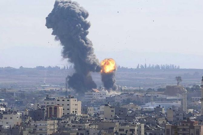 Siyonist işgal rejimi Gazze'ye bir kez daha saldırdı