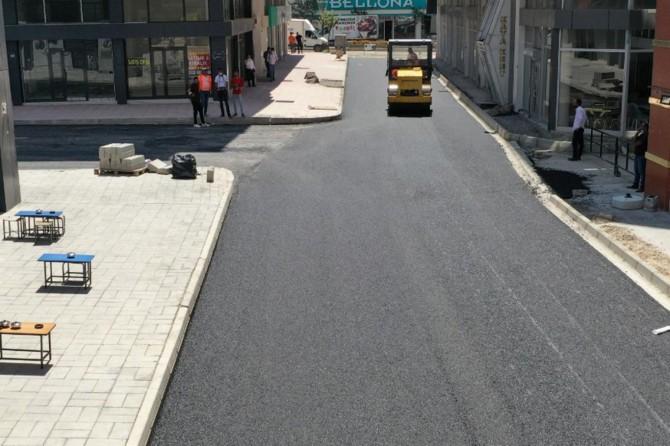 Van'da sokaklar yenilenmeye devam ediyor