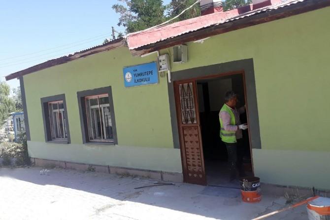 Van'daki okullar onarılıyor