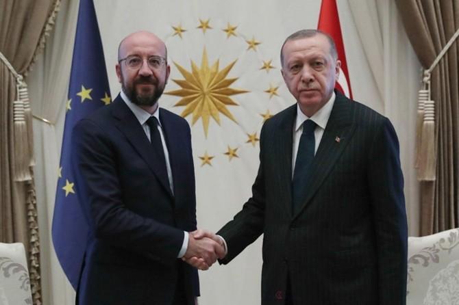 Cumhurbaşkanı Erdoğan, AB Konseyi Başkanı Michel ile telefonla görüştü