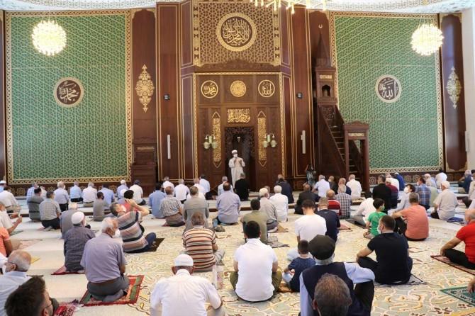 Battalgazi Kernek Karagözlüler Camii dualarla ibadete açıldı
