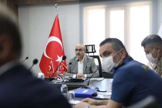 "Vali Demirtaş: ""Mardin'de yeşil alanın az olması beni üzdü"""