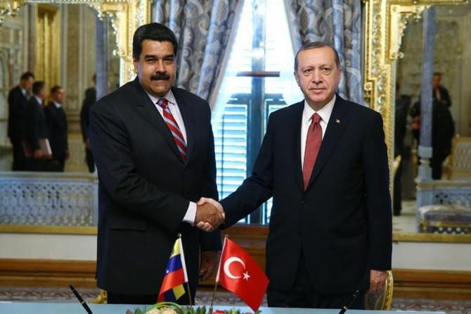 Erdoğan, Venezuela Devlet Başkanı Maduro ile telefon görüşmesi yaptı