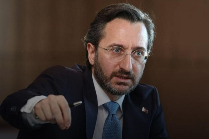 """İletişim Başkanı Altun: """"BAE'nin anlaşması, Türkiye için yok hükmündedir"""""""