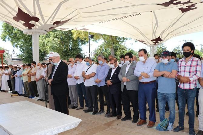 İhvan liderlerinden Aryan için İstanbul'da gıyabi cenaze namazı kılındı
