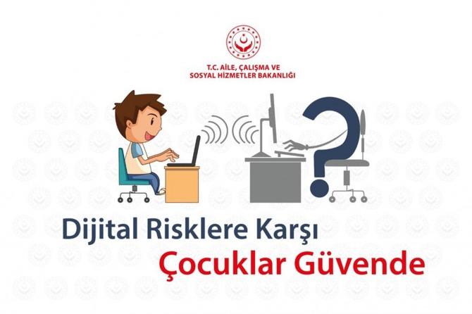Çocukların dijital ortamda maruz kalabilecekleri tehlikelere karşı bilinçlendirme eğitimi
