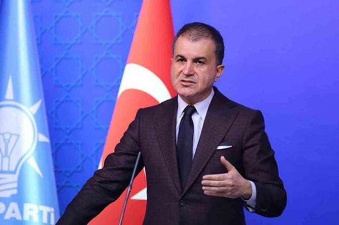 """AK Parti Sözcüsü Ömer Çelik: """"Türkiye'ye tehdit diliyle konuşan kaybeder"""""""