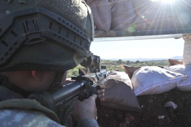 Fırat Kalkanı bölgesinde 1 PKK/YPG'li öldürüldü