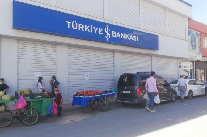 Nusaybin'de banka çalışanında Coronavirus tespit edildi
