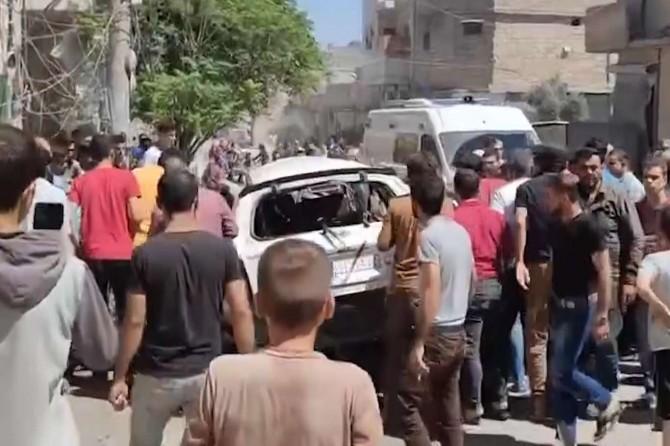 El Bab'da SMO aracına saldırı: 1 ölü
