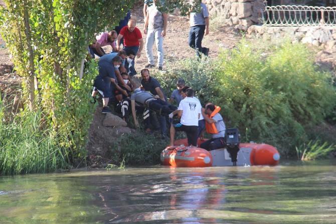 Diyarbakır'da Dicle Nehri'nde kaybolan genç, sağ olarak kurtarıldı