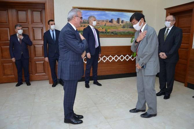 Japonya Büyükelçisi Akio Miyajima Diyarbakır'da