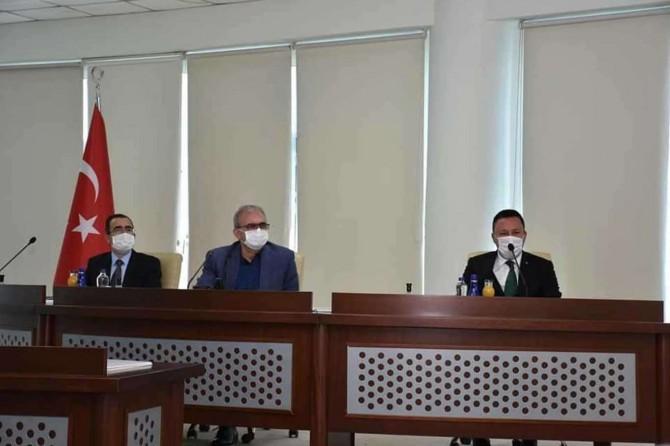 Diyarbakır'da kurum temsilcilerinin katılımı ile Bağlar'ın sorunları masaya yatırıldı
