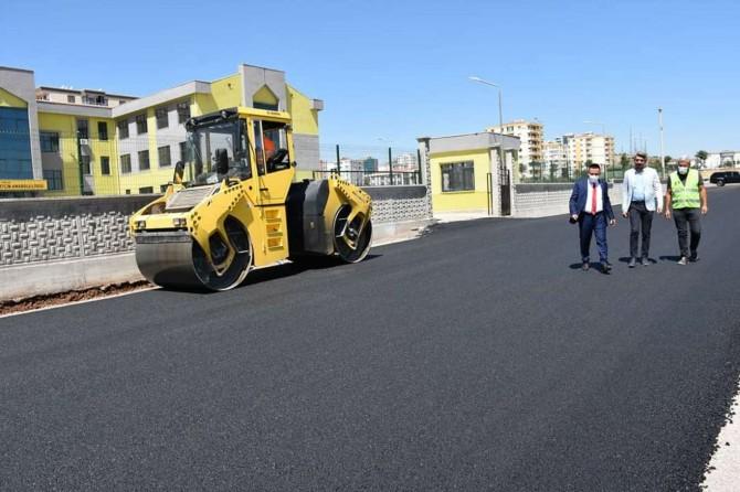 Diyarbakır'da eğitim kurumlarının çevresi yenilendi