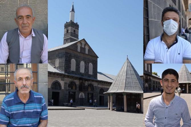 """Diyarbakırlılar: """"Aşura gününü fırsata çevirerek ibadetle geçiriyoruz"""""""