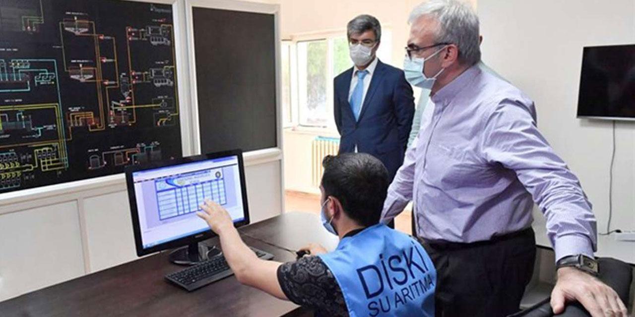 Diyarbakır Valisi Karaloğlu, DİSKİ'nin çalışma alanlarını inceledi