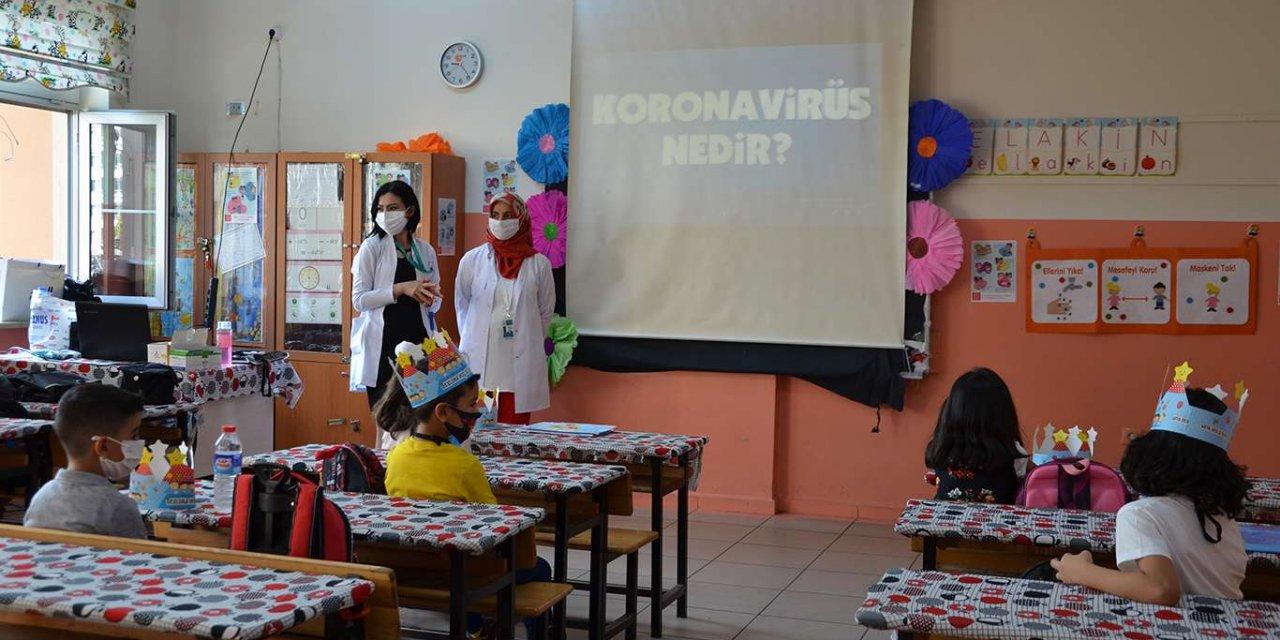 Diyarbakır'da okullarda Uygulamalı Hijyen Eğitimi verildi