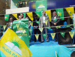 Çermik Hür Dava Parti binası açıldı