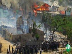 Arakan'da Medrese katliamı: 32 şehit