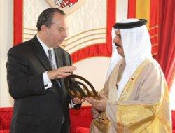 Siyonistlerden Bahreyn Emiri'ne Ödül!