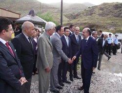 Sağlık Bakanı Keban'ı ziyaret etti