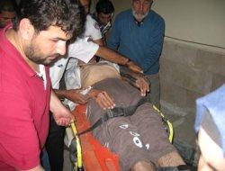 Erciş'te araç takla attı, 9 yaralı