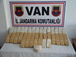 Van'da 43 kilo eroin yakalandı