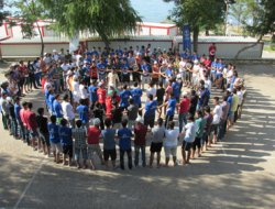 8 ülkeden 189 genç Gevaş'ta kamp yaptı