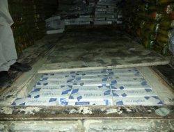 Ahmetli'de 20 bin paket kaçak sigara yakalandı