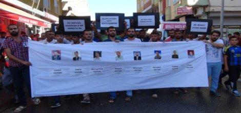 Silvanda, Bismilde katledilen 8 kişi için basın açıklaması yapıldı