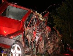 Rize`de feci kaza: 2 ölü 4 yaralı!