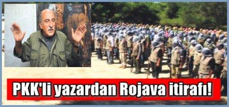 PKK'li yazardan Rojava itirafı!