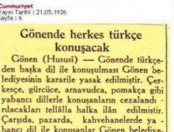 Anadil yasağı Türkiye'de böyle uygulanmıştı