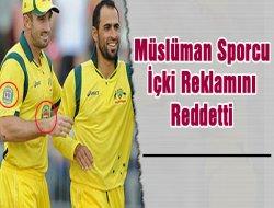 Müslüman Sporcu İçki Reklamını Reddetti