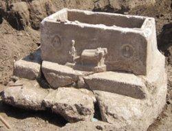 Roma Dönemine ait lahit bulundu