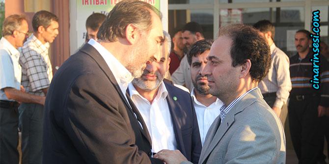 HÜDA PAR'dan Osman Baydemir'e taziye ziyareti