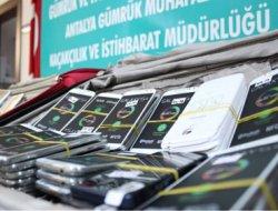Bir Milyon 200 bin liralık akıllı telefon ele geçirildi