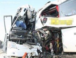 3 otobüsün karıştığı kazada ölenlerin isimleri açıklandı